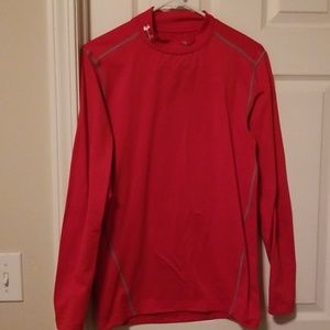 Under Armour fitted long sleeve shirt.